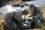 When  was the last time you had to overcome the pain of a combat wound in an exercise class.....